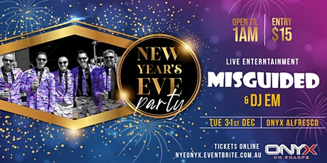 New Year's Eve Party - Onyx on Sharpe tickets