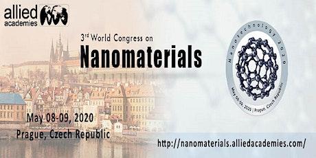 3rd World Congress on Nanomaterials... Prague, Czech Republic tickets