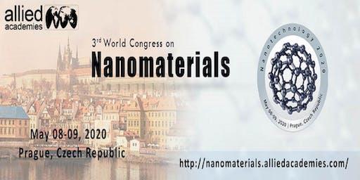 3rd World Congress on Nanomaterials... Prague, Czech Republic