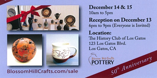 Blossom Hill Crafts Holiday Sale ~ 50th Anniversary ~ 30+ Local Artists