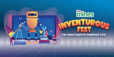 THE MINES INVENTUROUS  FEST   ROBOTICS COMPETITION