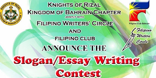 Slogan/Essay Writing Contest in Commemoration of Rizal Day