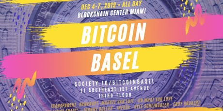 Bitcoin Basel tickets
