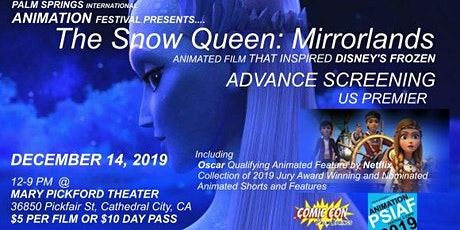 Palm Springs International Animation Festival  tickets