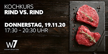 Kochkurs Rind vs. Rind Tickets