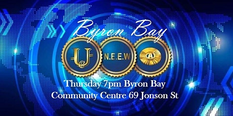 BYRON BAY New Economic Evolution of the World tickets