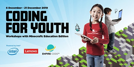 Free Coding Workshop for Youth, Workshops with Minecraft: Education edition tickets