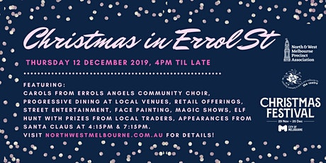 Christmas in Errol Street tickets
