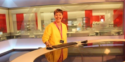 NE1's 24 Doors of Christmas 2019 - BBC Newcastle (Sneak Peek Studio Exp)