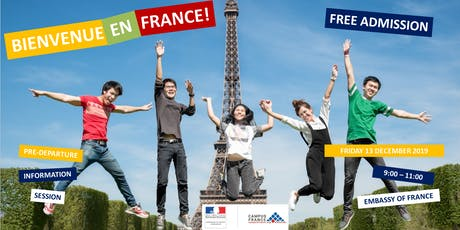 CAMPUS FRANCE SINGAPORE - PRE-DEPARTURE INFORMATION SESSION tickets