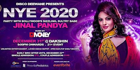NYE 2020 WITH JINAL PANDYA tickets
