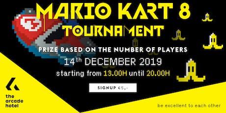 The Arcade Hotel MARIO KART 8 DELUXE Tournament December  tickets