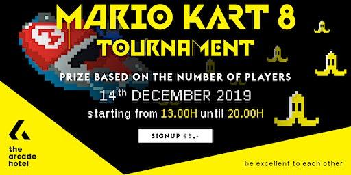 The Arcade Hotel MARIO KART 8 DELUXE Tournament December