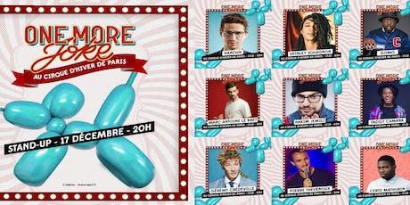 One More Joke X Cirque d'Hiver Bouglione tickets
