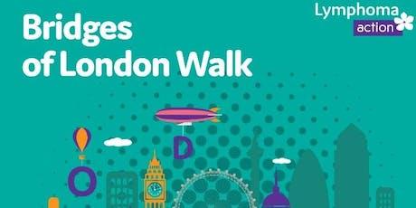 Lymphoma Action Bridges of London tickets