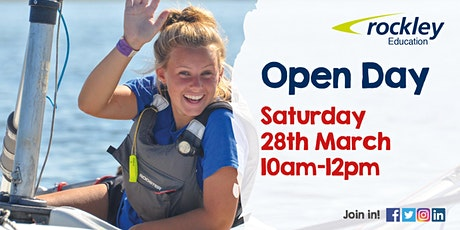 Rockley Sixth Form Courses Open Event March 2020 tickets
