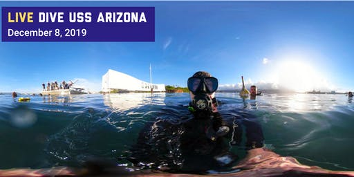 Live Dive USS Arizona at Pearl Harbor National Memorial