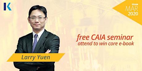 CAIA FREE Seminar & Demo Lecture tickets