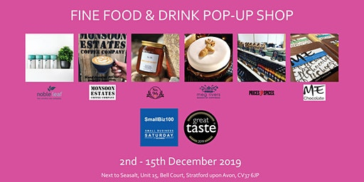 Food & Drink Pop-Up Shop