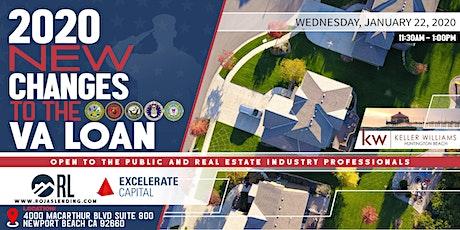 2020 NEW VA Loan| Active Duty, Veterans & Real Estate Professionals tickets