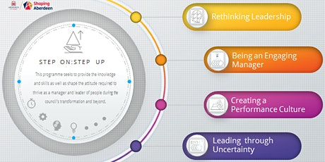 Being an Engaging Manager  (module 2 of the Step On: Step Up programme) tickets