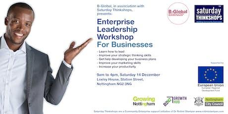 Enterprise Strategic Leadership Thinkshop tickets