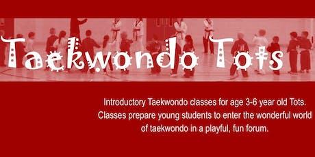 Taekwondo Tots - 2020 - Term 1 tickets