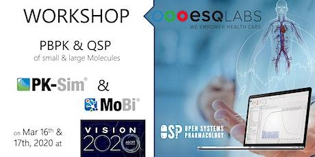 ASCPT2020: PBPK with PK-Sim & MoBi (OSP Suite) tickets