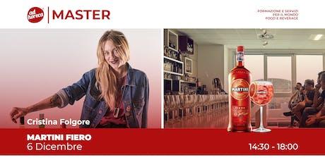Ad Master | Martini Fiero - Cristina Folgore biglietti