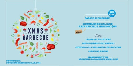 CHRISTMAS BARBECUE - la cena di Natale tickets