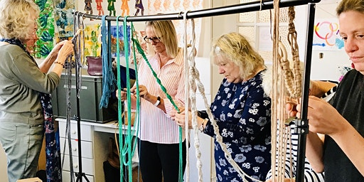 Macramé Macrame Plant Hanger Workshop