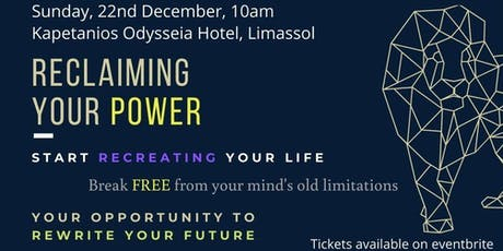 Reclaiming YOUR PERSONAL POWER - Rewrite YOUR FUTURE tickets