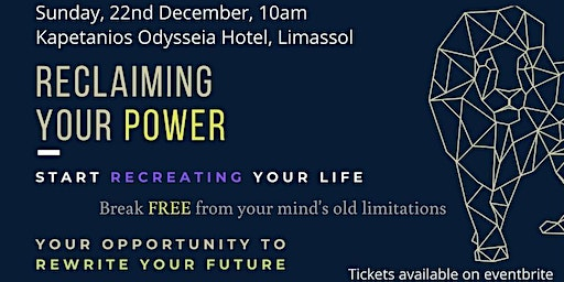 Reclaiming YOUR PERSONAL POWER - Rewrite YOUR FUTURE