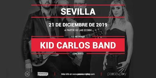 Concierto Kid Carlos Band en Pause&Play Metromar