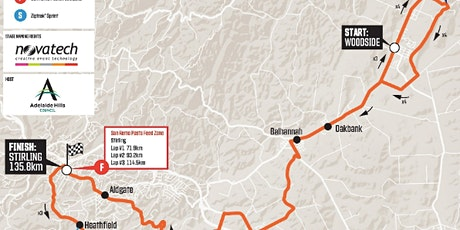 Tour Down Under - Social Ride (By Invitation Only) tickets