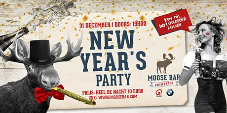 Moose Bar NYE 'Antwerpen' tickets