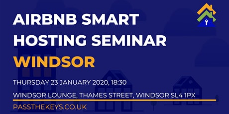 Airbnb Smart Hosting Seminar - Windsor tickets