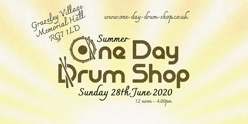 Summer One Day Drum Shop