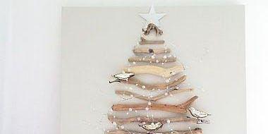 Sip 'n' Craft - Christmas Tree Canvas & Ribbon Trees
