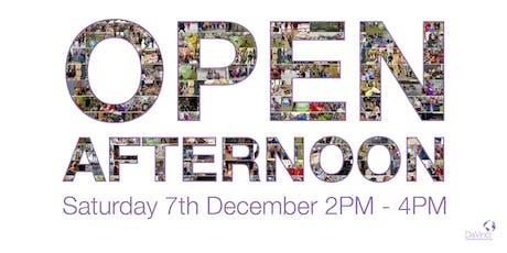 Open Afternoon  @  Da Vinci International School Antwerp tickets