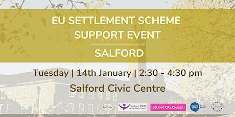 EU Settlement Scheme Support Event Salford tickets