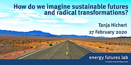 How do we imagine sustainable futures and radical transformations?  tickets