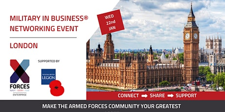 Military in Business Networking Event- London tickets