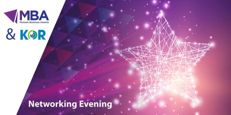 MBA & KOR Equipment Solutions -  networking evening tickets