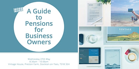 A Simple Guide to Pensions for Business Owners tickets