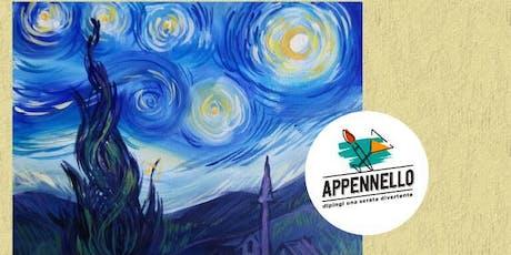 Stelle e Van Gogh: aperitivo Appennello a Verona biglietti