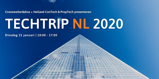 TechTrip NL 2020 by Croonwolter&dros