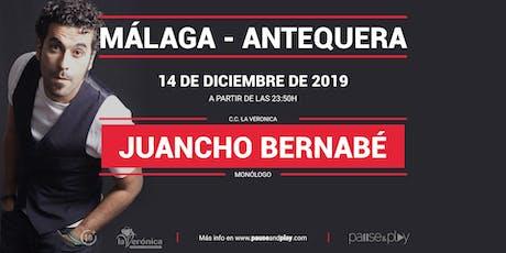 Monólogo Juancho Bernabé en Pause&Play La Verónica bilhetes