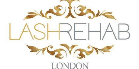 Lash Rehab RUSSIAN Lash Masterclass March 2020 by Seda London tickets