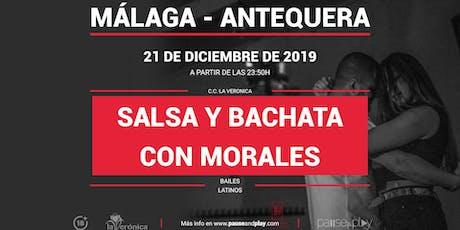 Bailes latinos Salsa y bachata con Morales en Pause&Play La Verónica bilhetes